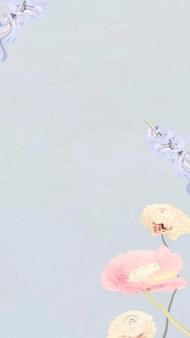 Vetor abstrato do fundo do papel de parede da flor