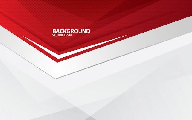 Vetor abstrato vermelho backgrund