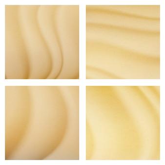 Vetor da textura da praia do mar do verão. ilustração de fundo material sandy