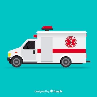 Vetor de ambulância