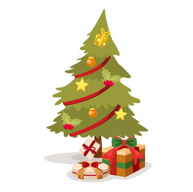 Vetor de árvore de natal