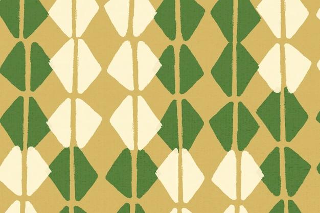 Vetor de bacground padrão étnico, design vintage