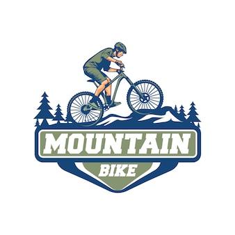 Vetor de bicicleta de montanha