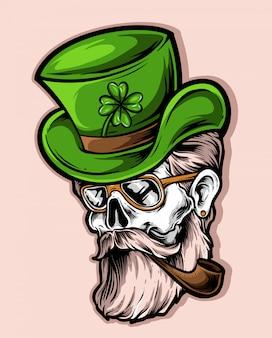 Vetor de cavalheiros verde