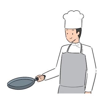 Vetor de chef