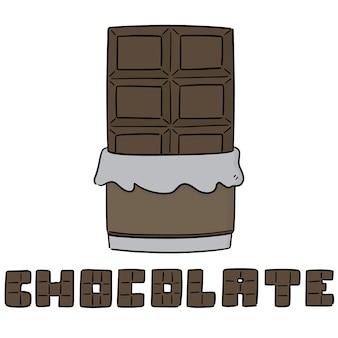 Vetor de chocolate