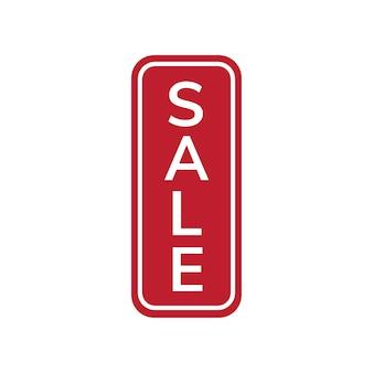 Vetor de crachá de tag de promoção de venda