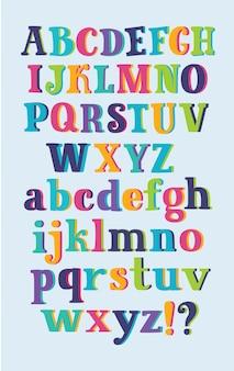 Vetor de desenho do alfabeto d