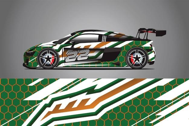 Vetor de design de adesivo de carro