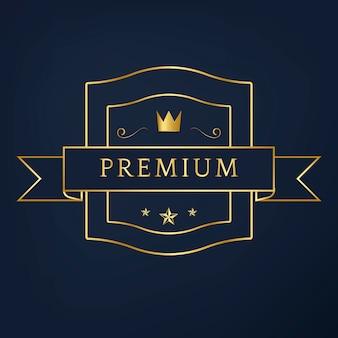 Vetor de design de distintivo de coleção premium