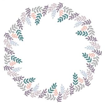 Vetor de design de grinalda de natal.