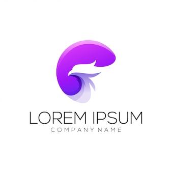 Vetor de design de logotipo de águia