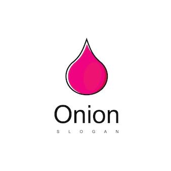 Vetor de design de logotipo de cebola