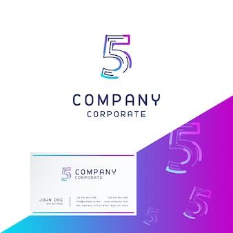 Vetor de design de logotipo de empresa 5
