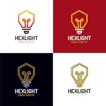 Vetor de design de logotipo de idéia
