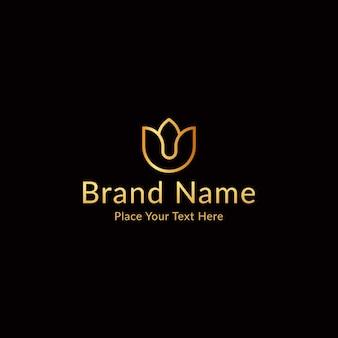 Vetor de design de logotipo do lotus spa