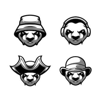 Vetor de design de panda