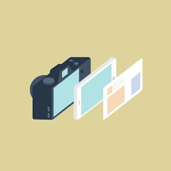 Vetor de dispositivos de compartilhamento sem fio