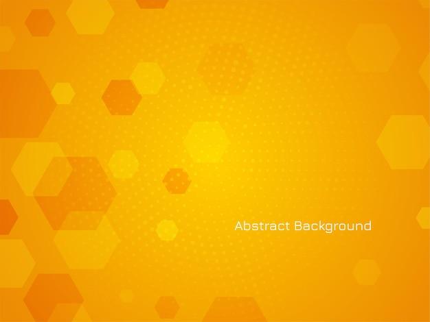 Vetor de fundo abstrato moderno design hexagonal