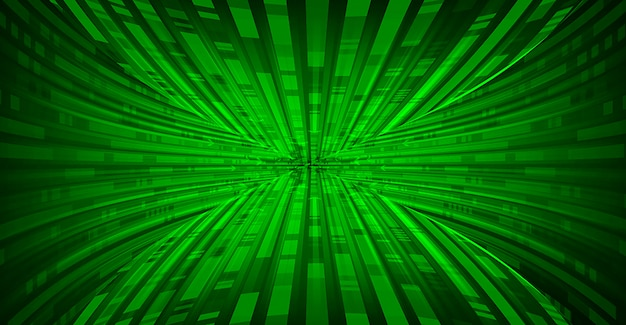 Vetor de fundo abstrato onda verde movimento