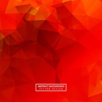 Vetor de fundo abstrato polígono colorido