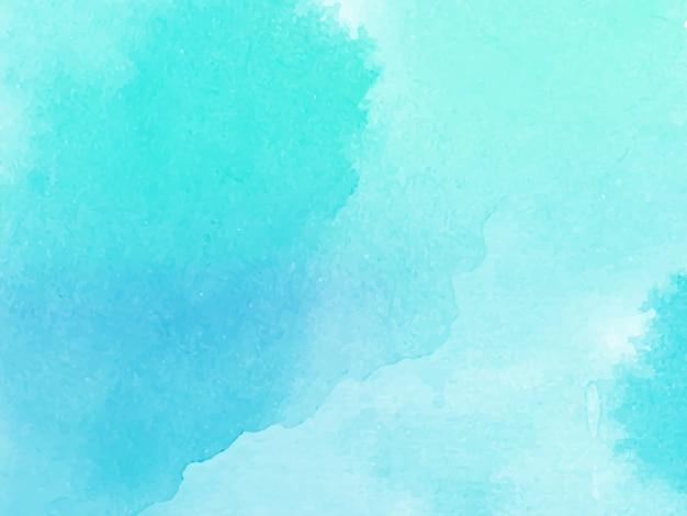 Vetor de fundo azul aquarela textura
