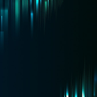 Vetor de fundo azul e verde estampados
