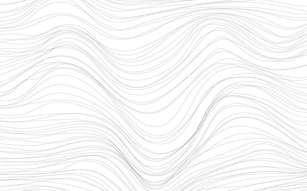 Vetor de fundo branco de texturas de onda