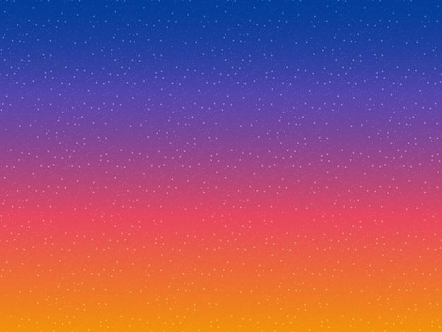 Vetor de fundo de estrelas. padrão sem emenda do céu noturno. espaço abstrato do cosmos.