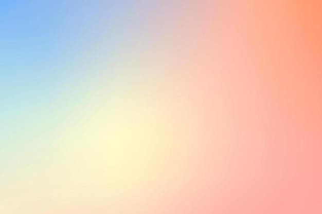 Vetor de fundo de ombre de verão vibrante