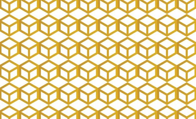 Vetor de fundo de papel de parede de favo de mel editável