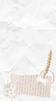 Vetor de fundo de papel de parede de textura de papel