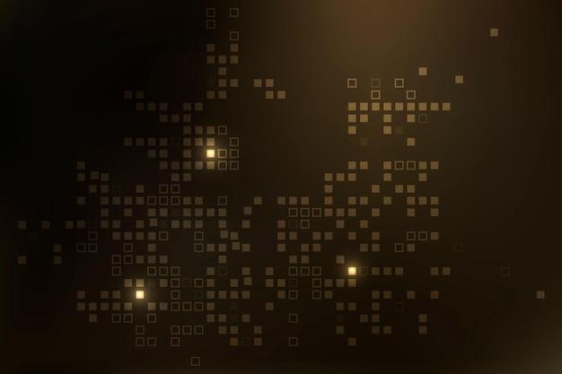 Vetor de fundo de tecnologia com padrão de pixel