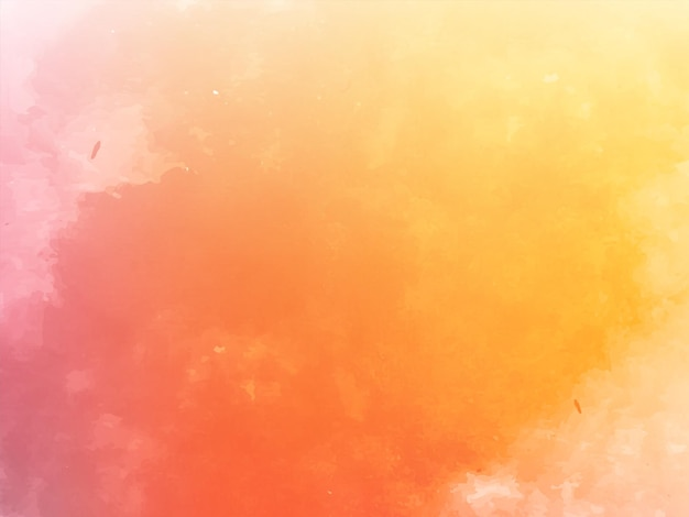 Vetor de fundo de textura aquarela abstrata