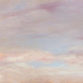 Vetor de fundo de textura de céu pastel