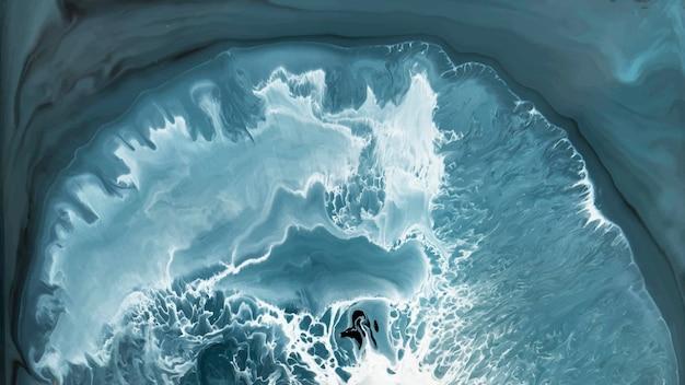 Vetor de fundo estampado com aquarela grunge azul abstrato