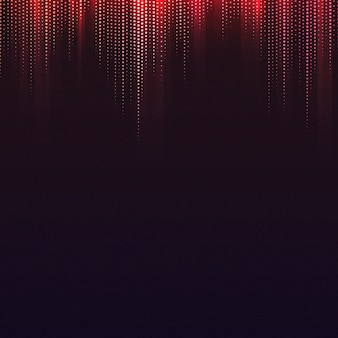 Vetor de fundo estampado vermelho e preto