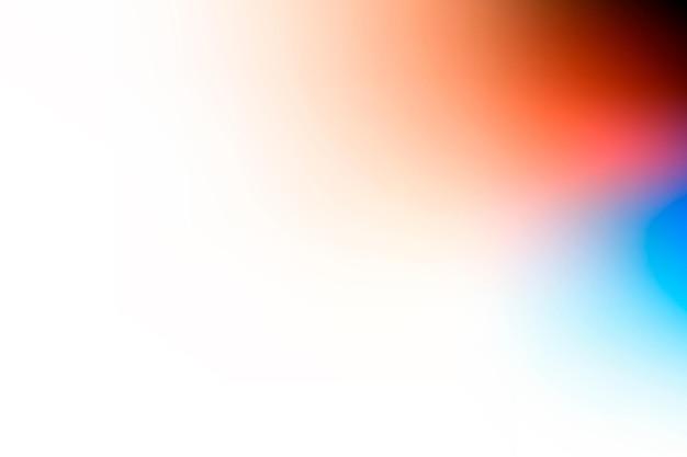 Vetor de fundo gradiente desbotado branco com borda vermelha