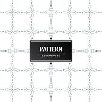 Vetor de fundo moderno de padrão abstrato sem emenda