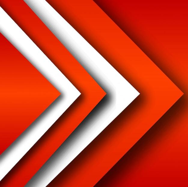 Vetor de fundo vermelho geométrico elegante moderno