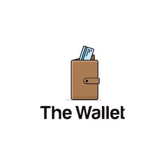 Vetor de ícone de carteira.