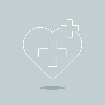 Vetor de ícone de saúde