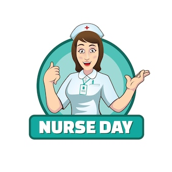 Vetor de ilustração do dia da enfermeira