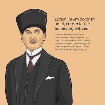 Vetor de ilustração do dia histórico