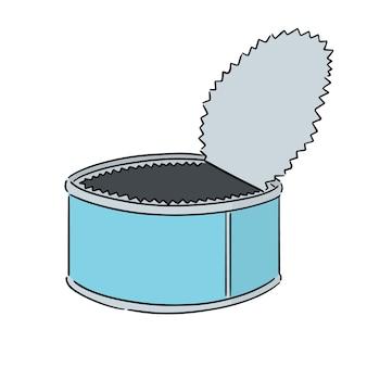 Vetor de lata