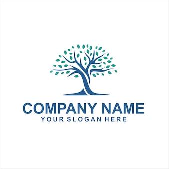 Vetor de logotipo árvore educação