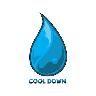 Vetor de logotipo de água