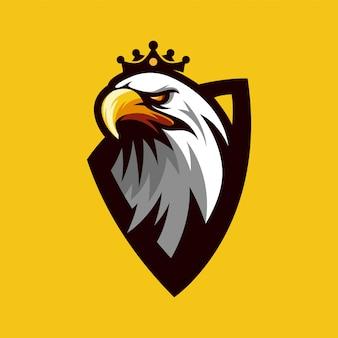 Vetor de logotipo de águia