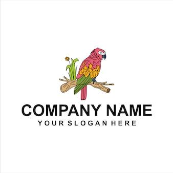 Vetor de logotipo de aves