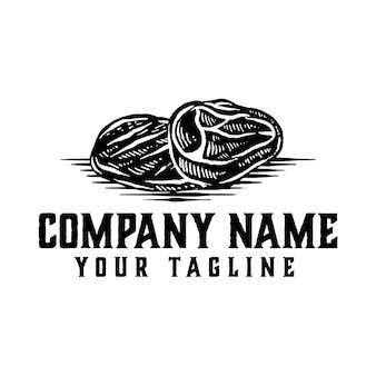 Vetor de logotipo de carne